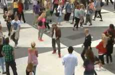 Ceremonial Guerrilla Dance - Flash Mob Michael Jackson Tributes in Stockholm, Sweden