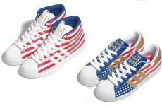 Patriotic Sneakers - Adidas Originals 60th Anniversary Stars & Stripes Pack