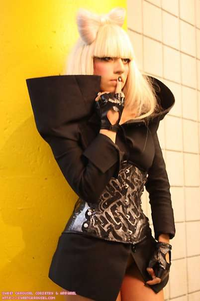 Graffiti Corsets - Austere Style So Hot, Even Lady GaGa Can't Resist
