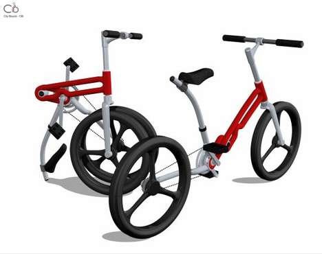 Futuristic Origami Bikes