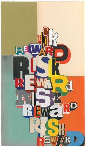 Trippy Typography Art
