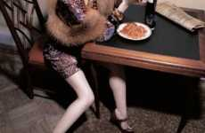 Granny Couture - V Magazine Makes Old-School Styles Like Fur and Hats New Again