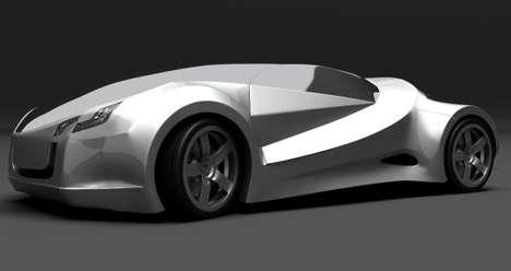 Sleek Aerodynamic Automobiles