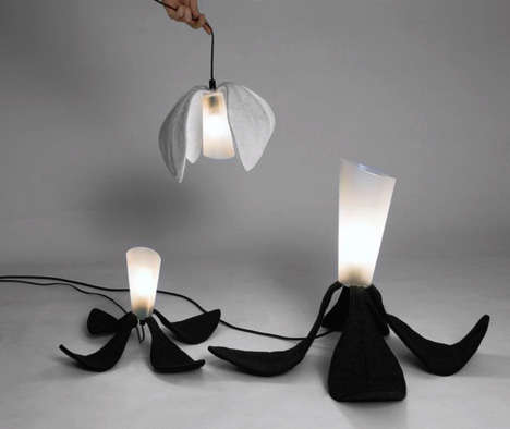 Folding Light Fixtures
