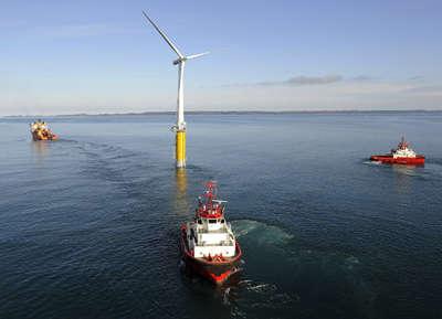 Oceanic Wind Farms