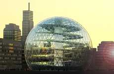 Giant Orb Greenhouses - Plantagon Urban Farms Will Supply Fresh Produce in Geodesic Domes