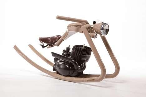 Motorcycle Rocking Horses