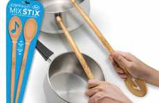 Musical Mixing Spoons - Mix Stix Lets You Play Drums While You Cook