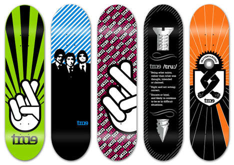 Positive Deck Designs - Luis B-Boy Skateboard Art Meant to Encourage & Inspire