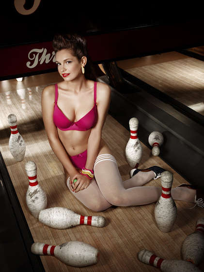 Bowling Alley Negligee