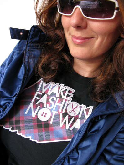 Make Fashion Not War Calls for Pop Culture Over Violence