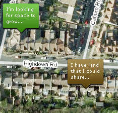 Crowdsourced Gardening - Landshare Lets Communities Grow Their Veggies Together
