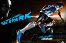 Harnessing Soccer Star Power - Adidas Uses Argentinian Phenom Messi for 'Spark' Ads