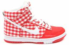 Tablecloth Kicks - Nike Skinny Dunk High (Jam Jar) Sneakers Are Gorgeous in Gingham