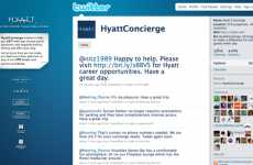 Twitter Concierges - Hyatt Extends Hospitality to the Internet With @HyattConcierge