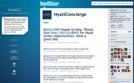Twitter Concierges