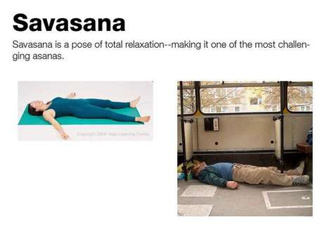 Asanas for Alcoholics - Drunk People Doing Yoga Are Unintentionally in Tune With Their Bodies
