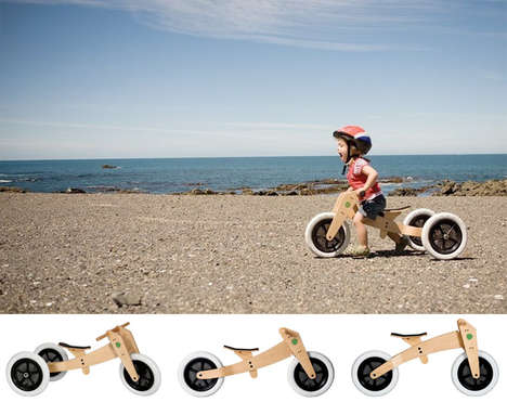 Pedal-less Bicycles