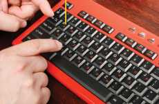 One-Finger Typing Keyboards