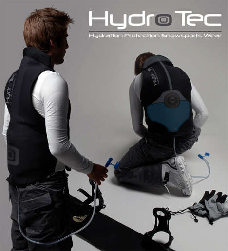 Extreme Sports Shields - Hydro Tec-Hydration Protection for Snowboarders