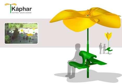 Polite Flower Benches