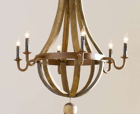 9 Recycled Chandeliers