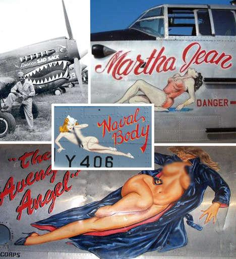 War Plane Art