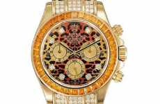 Animal Print Timepieces - Rolex Cosmograph Daytona Leopard Watch for Wild Women