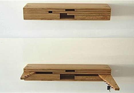 Pocket Knife Shelves
