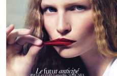 Peeling Lip Photography - Katrin Thormann Tests Cosmetics for Vogue Paris Beauty