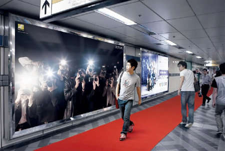 Fake Paparazzi Billboards