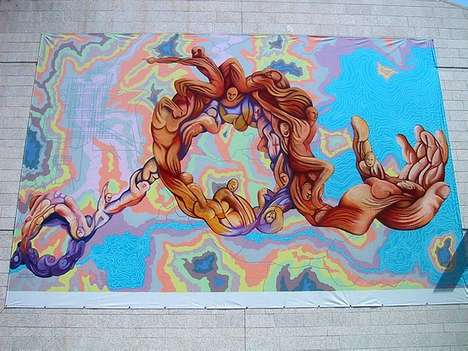 Urban Beautification - Muralfest Hits the Walls and Streets of Winnipeg