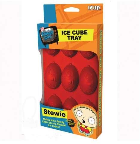 Cartooned Ice Cubes