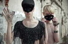 Men in Mesh, Heels & Masks - Antonella Arismendi's 'Illuminati' Erases Gender Lines