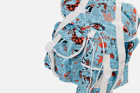 Comic Art Backpacks
