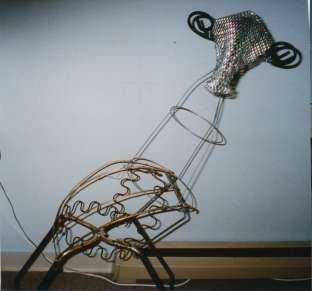 Scrap Sculptures