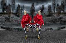 Avant-Garde Twins - Daniel Bolliger Creates a Mirror Effect for 'Creatures'