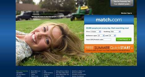 Match.com Teams up With BT Vision for Unusual Show