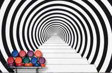 Hypnotic Wall Decals - Modern Sticker Decorum From Areaware