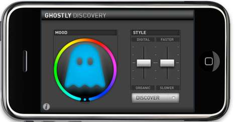 Emotion Predicted Playlists - Ghostly Discovery App Offers iPhone Users Mood-Based Music Listening