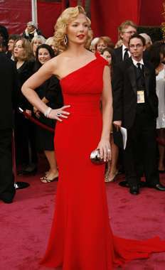 20 Sultry Crimson Gowns
