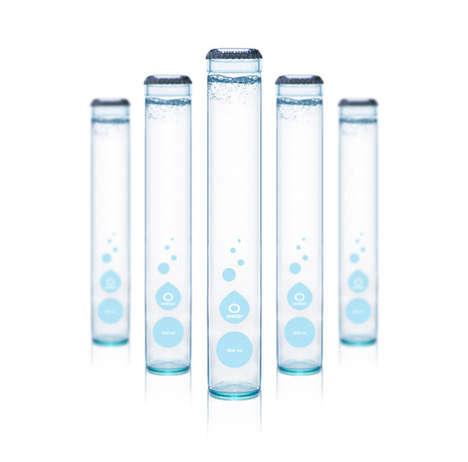 Test Tube Water Bottles