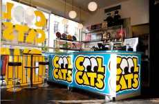 Temporary Underground Retail - Cool Cats Pop Up Shop Collaboration with Nike and LIVESTRONG