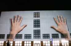 3D Wall Projections - Urbanscreen Casts Moving Art on O.M. Ungers' Galerie der Gegenwart