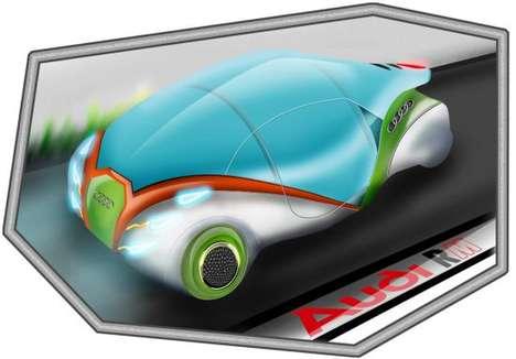 Magnetic Pod Cars