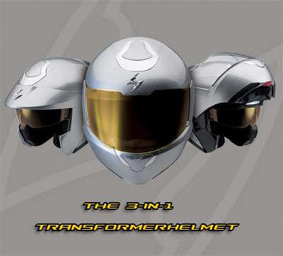 Transforming Helmets