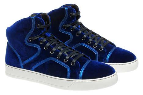 Plush Blue Kicks