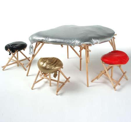 Sand-Print Seats