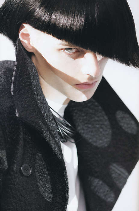 Angular Hipster Hair - Distracting 'dos in the Dior Homme HUgE Magazine Shoot