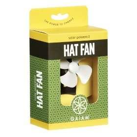 Solar-Powered Fan Hats